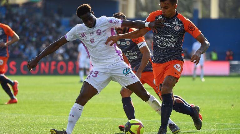 Même s'il n'a pas marqué, Boulaye DIa a été l'un des meilleurs rémois à Montpellier.