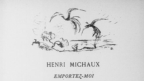 """René Bertelé à propos de """"Façons d'endormi Façons d'éveillé"""" de Henri Michaux"""