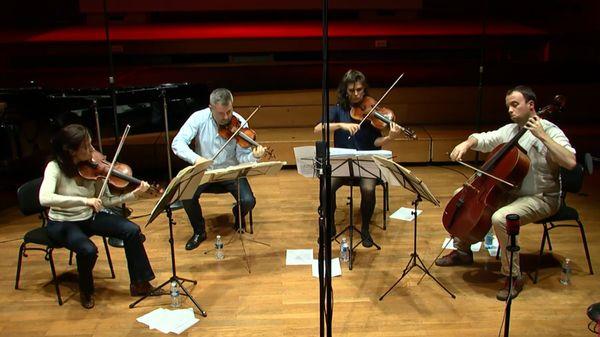 "Olivier Greif | Quatuor à cordes n°4 ""Ulysses"" par l'Ensemble Syntonia"