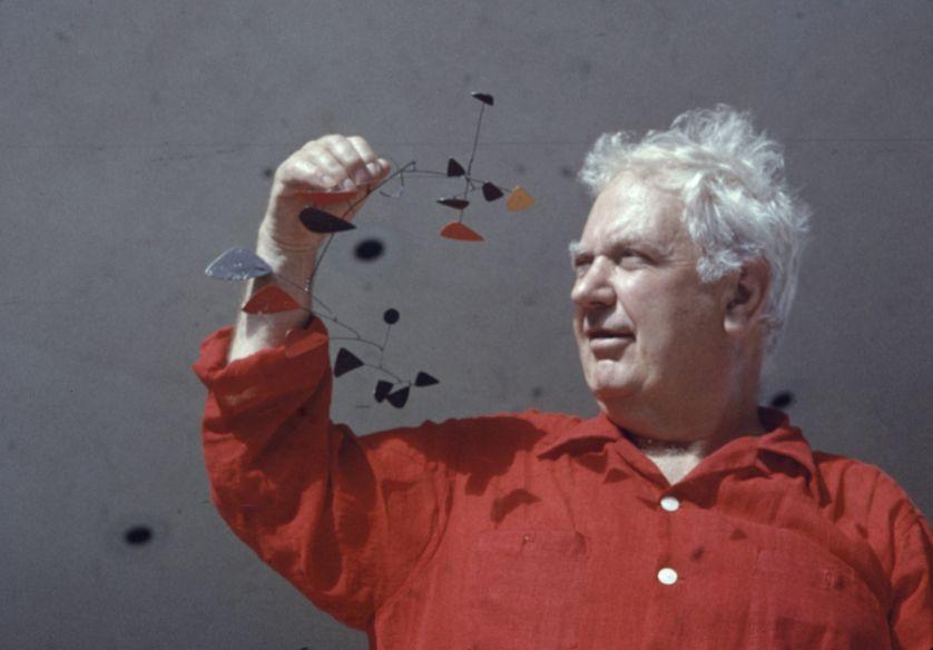 Alexander Calder en 1957