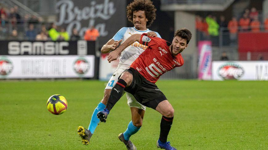 Rennes et Marseille se sont quittés sur un nul (1-1).
