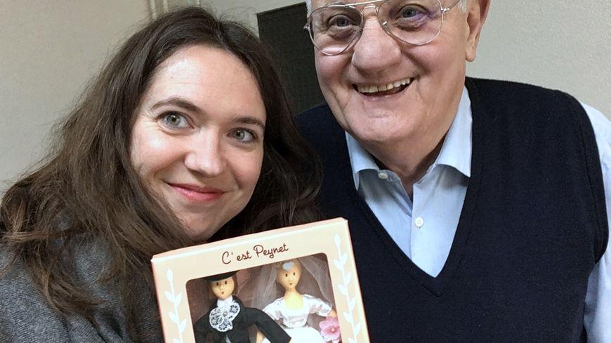 Gérard Vialet, Daphné Michelas et les amoureux de Peynet