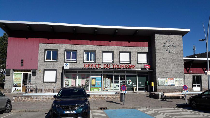 La gare de Gerardmer occupée par l' Office du Tourisme