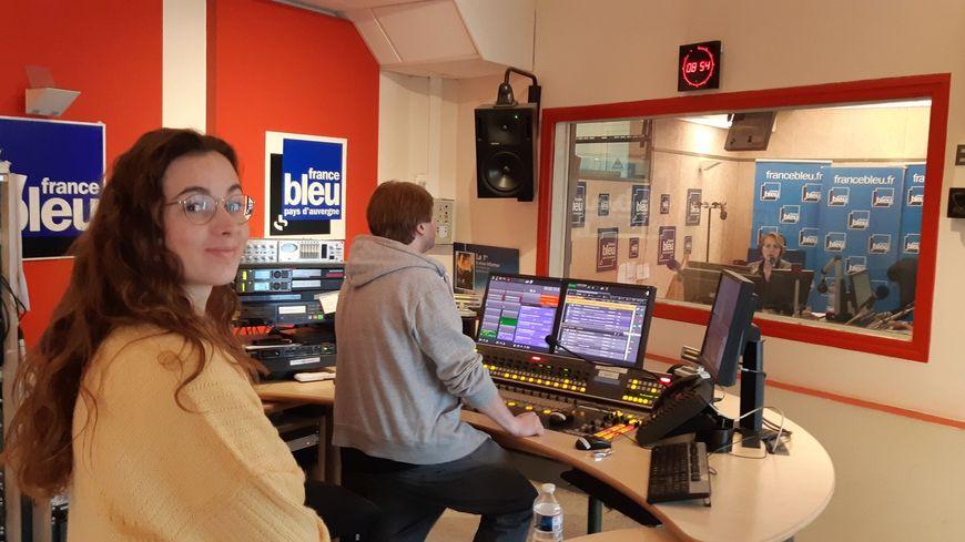 France Bleu Pays d'Auvergne a accompagné une de ses jeunes auditrices dans sa journée découverte de la radio
