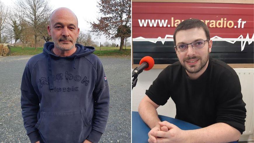 Christophe Feuillet et Anthony Police, deux membres de l'Autre Association.
