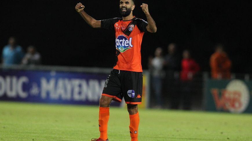 Mounir Obbadi peut-être heureux avec cette nouvelle victoire du Stade Lavallois à domicile