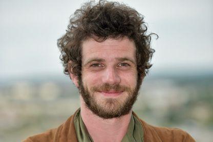 L'acteur Félix Moati pendant le 11ème Festival du Film Francophone d'Angoulême le 25 août 2018.