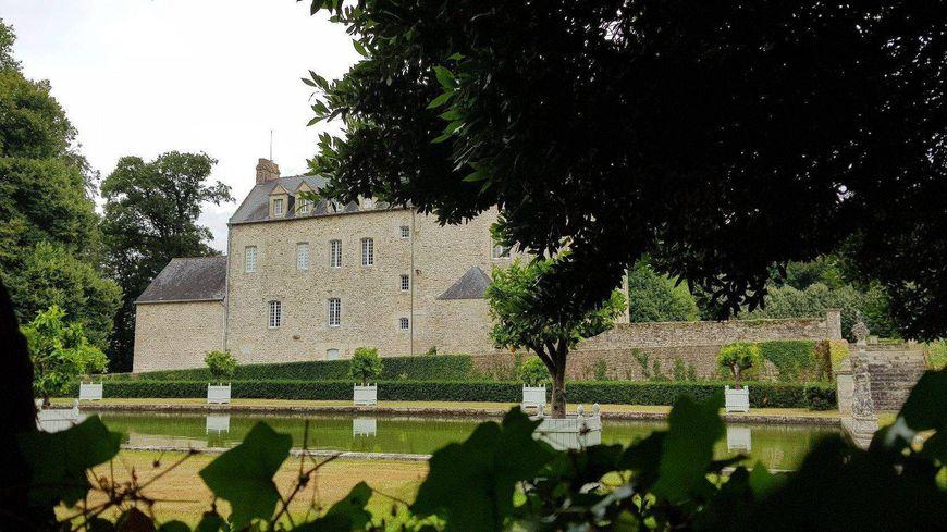 Le château de Penhoët à Grand-Champ dans le Morbihan