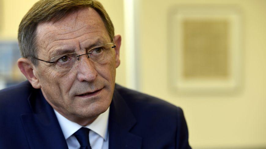 Robert Herrmann, le président de l'Eurométropole de Strasbourg.