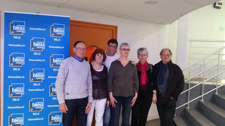 Les auditeurs à France Bleu Maine.