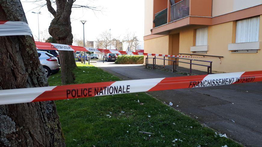 Le quartier a été bouclé par la police.