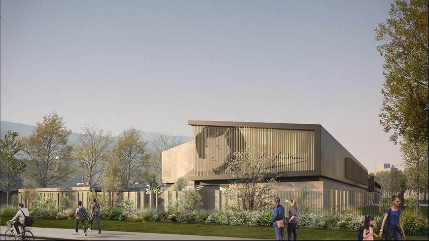 Un visuel du projet retenu pour reconstruire le collège Lucie-Aubrac
