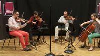 Peteris Vasks | Quatuor n°3 (Deuxième mouvement) par le Quatuor Tana