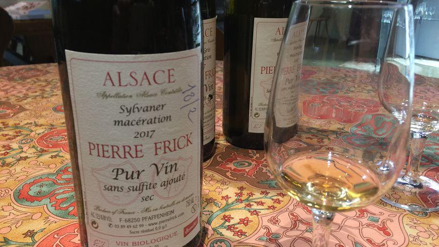 Jean-Pierre Frick produit des vins de macération depuis trois ans