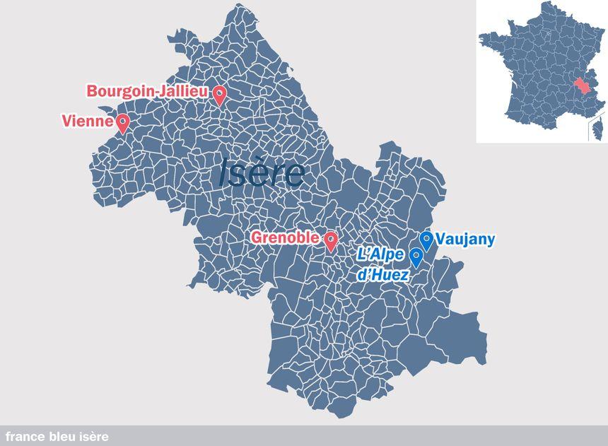 Vaujany, en Isère