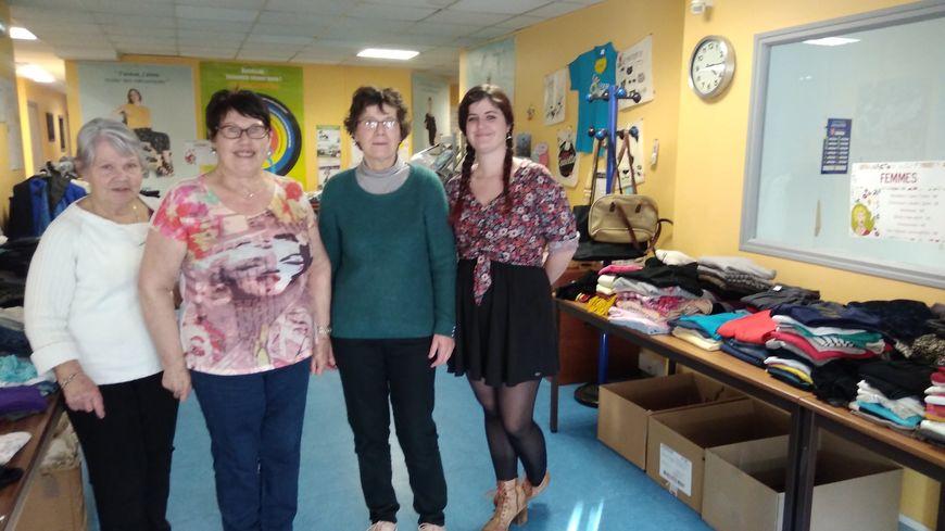 Les bénévoles de l'APF à Cherbourg