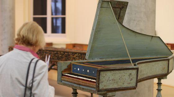 Un clavecin de 1540 à Hambourg