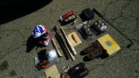 Des armes confisquées par la gendarmerie
