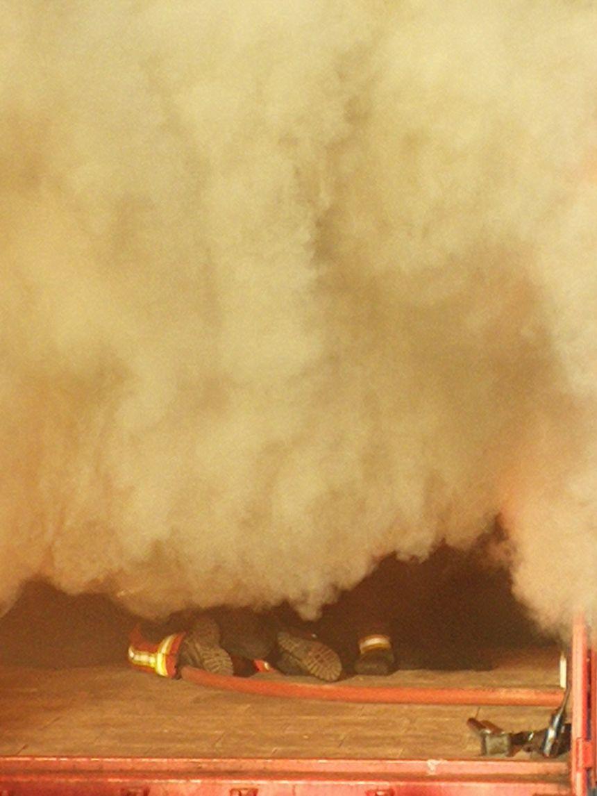 Ces exercices servent à mieux appréhender la réalité d'un incendie