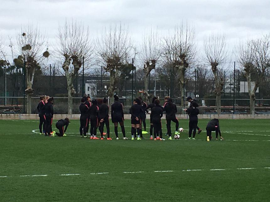 Equipe féminine du PSG Football