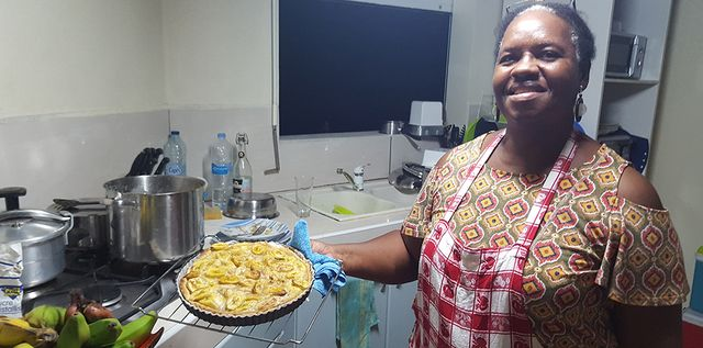 La tarte à la banane  de Lidy Philetas