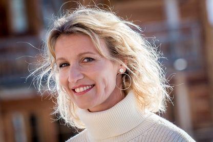 Alexandra Lamy, lors du 22ème Festival international du film de comédie de l'Alpe d'Huez (16 janvier 2019, Alpe d'Huez, France)