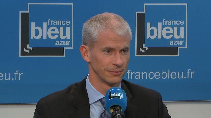 Franck Riester sur France Bleu Azur