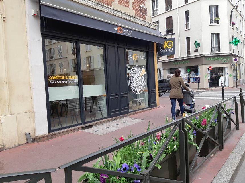 """""""En 10 Saveurs"""" a ouvert ses portes 39 rue Raspail à Levallois."""