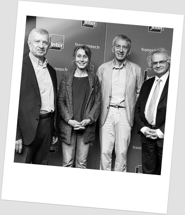 Yves Agid, Stéphanie Bodet, Jean-Christophe Rufin et Amin Maalouf