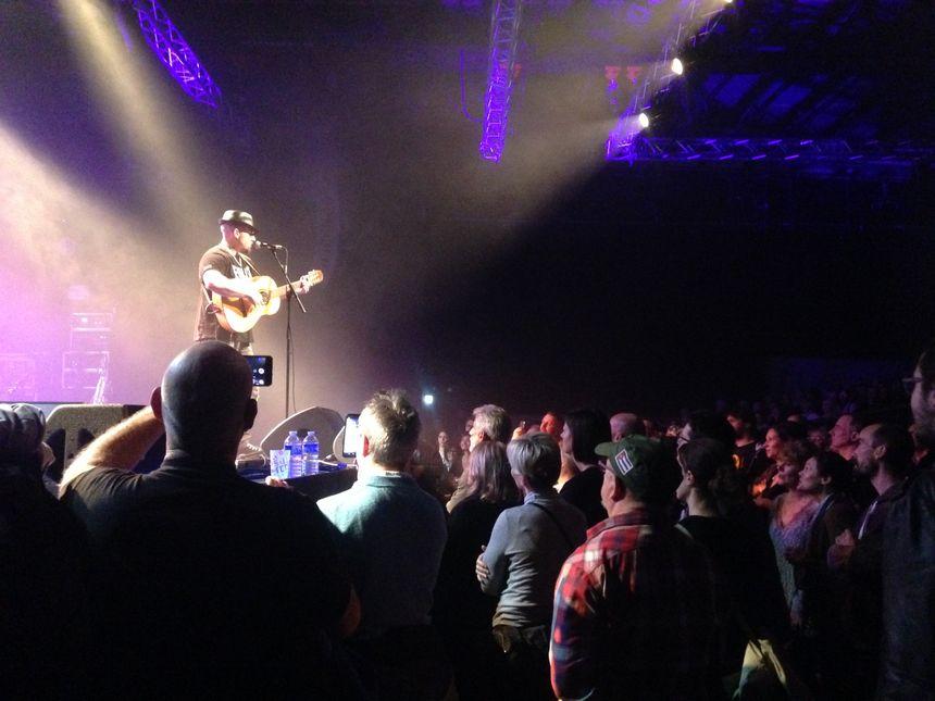 Les 1.095 places ont été vendues deux jours avant le début du concert.