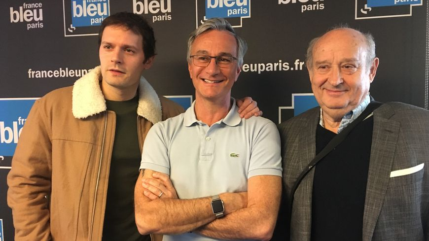 Michel Jonasz et Hugo Becker