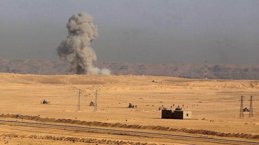 Dans l'ouest de l'Irak, près de la frontière syrienne (photo d'illustration)