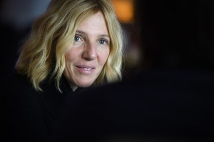 Portrait de l'actrice et chanteuse, Sandrine Kiberlain le le 17 janvier 2019.