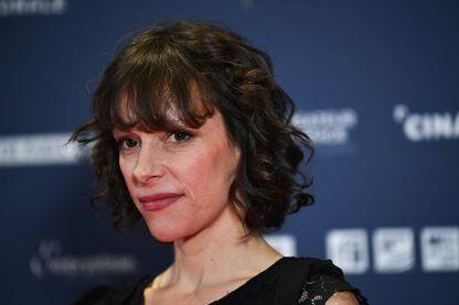L'auteure-compositrice-interprète Emily Loizeau, à l'Institut du Monde Arabe à Paris, le 4 février 2019.