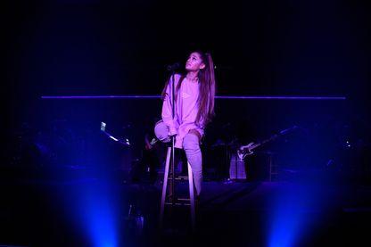 Ariana Grande, en concert à Los Angeles (25 août 2018, USA)