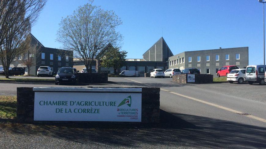 La chambre d'agriculture de la Corrèze à Tulle