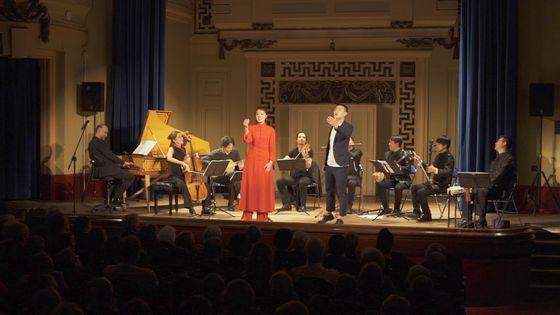 Les membres du Concert de l'Hostel Dieu et de l'Ensemble Huaxia réunis sur scène