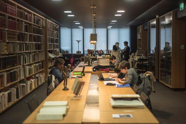 La bibliothèque Charcot à l'ICM © Sorbonne-Université