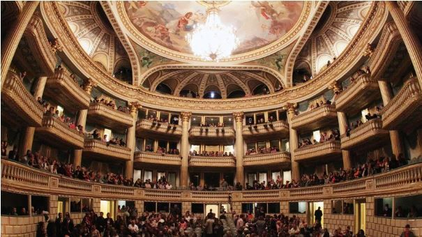 L'opéra de Bordeauxx.