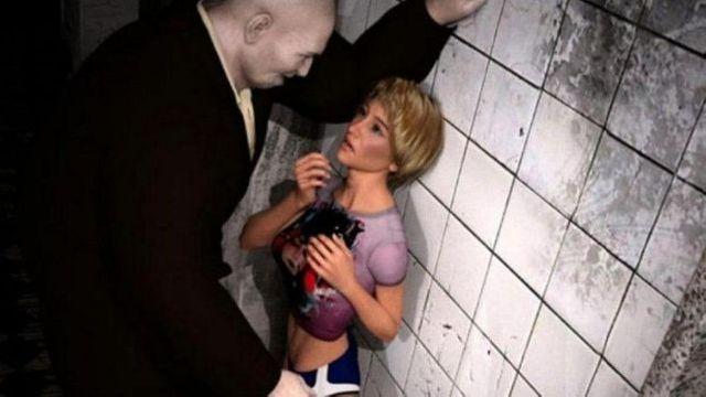 """Capture d'écran du jeu vidéo """"Rape day"""""""