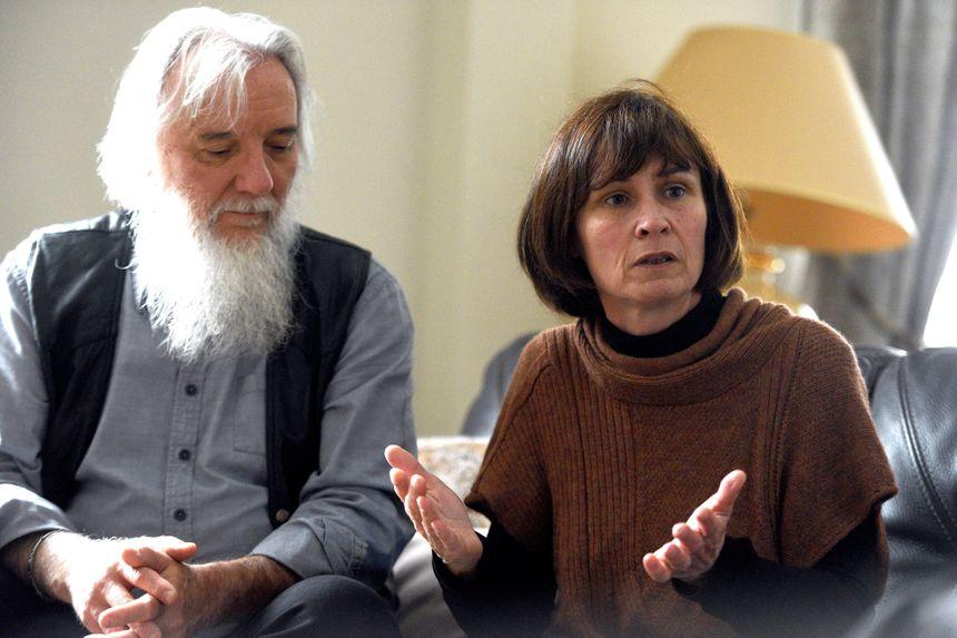 Didier et Cécile Noyer, les parents d'Arthur Noyer.