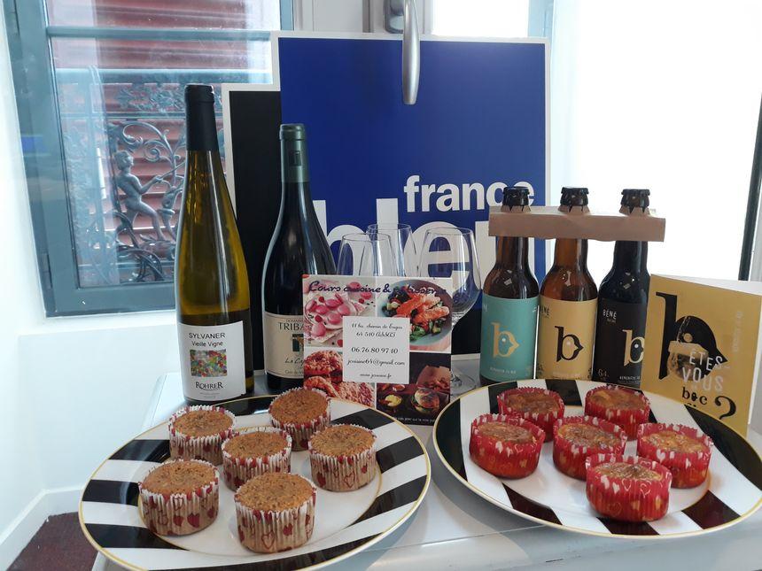 Muffin poulet curry et un vin de Montpellier. Gateaux Creusois et Sylvaner  - Radio France