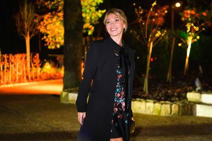 Anne Marivin, comédienne française, lors de la Fashion Week de Paris (24 janvier 2019)