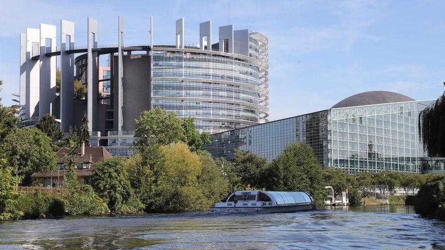 Le siège du Parlement européen de Strasbourg en septembre 2018