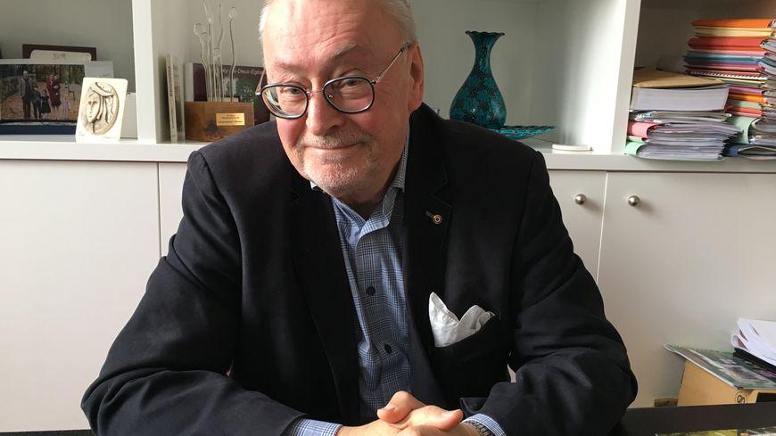 Philippe Nolland a été élu pour la première fois maire de Pithiviers en 2014