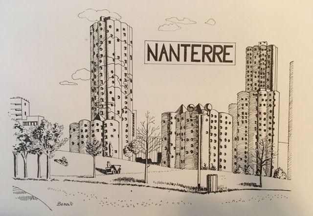 Ce quartier de grands ensembles, emblématique des œuvres utopiques des années 70 figure dans de nombreux livres d'architecture contemporaine.