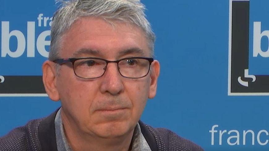 Albert Filipi, maire de Saint-Agnès