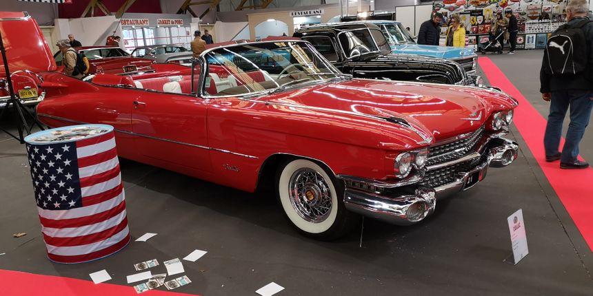 Les belles et gigantesques voitures américaines