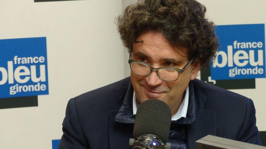 Philippe Buisson, président de la communauté d'agglomération du Libournais