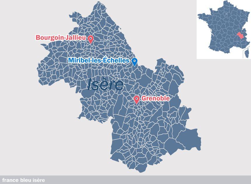 Miribel-les-Échelles, en Isère - Radio France